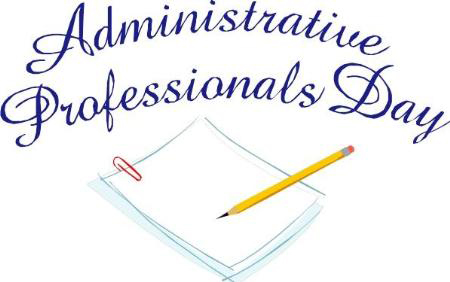 Happy Administrative Professionals Day! | Evergreen Speech ...